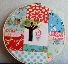 crafts with embroidery hoops | cute embroidery hoop stitching | Embroidery Hoop Crafts