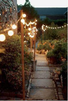 Patio Diy, Backyard Patio, Backyard Landscaping, Patio Ideas, Landscaping Ideas, Garden Ideas, Outdoor Ideas, Best Outdoor Lighting, Backyard Lighting