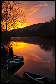 Another Winter dawn,  Carrick-on-Suir, Tipperary, Ireland
