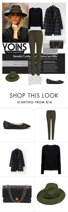 """""""Yoins 28"""" by antonija2807 ❤ liked on Polyvore featuring Pink Tartan, Chanel, MustHave, fall2015 and yoins"""