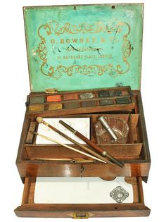 G. Rowney Watercolour Box c1850-60