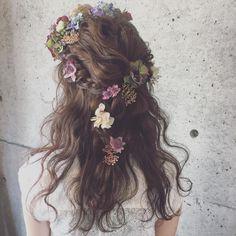 * * wedding   hair * * #ウェディング #浜松市 #マリhair