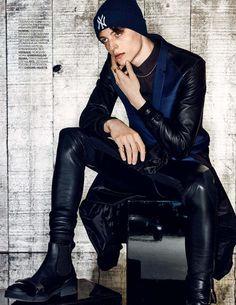 Editorial por Walter Chin para GQ Style Rusia Fall/Winter 2015 - Male Fashion Trends