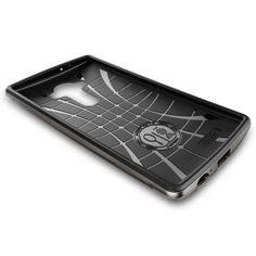 LG G4 Kılıf, Spigen Neohybrid - Gun Metal