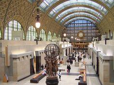 Gare d'Orsay: Parisian Beaux-Arts Railway Station Transformed into Art Museum