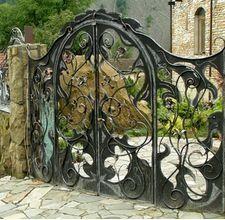 iron gate for NaNoWriMo 2014