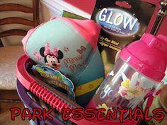 Essentials for inside the park