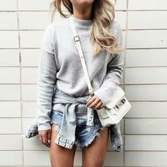 20 Ideas para combinar suéteres y hoodies con outfits casuales d2b4bc08e97c