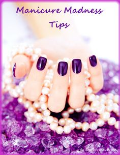 Salon looking nails at home, with items from your pantry and MORE by Barbie's Beauty Bits.  I use the ice bath for drying my nails, with a base coat, 2 coats of polish and 2 top coats my manicure lasts through a whole week of bartending.