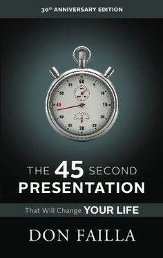 The 45 Second Presentation That Will Change Your Life: Understanding Network Marketing - http://omheaven.com/the-45-second-presentation-that-will-change-your-life-understanding-network-marketing/