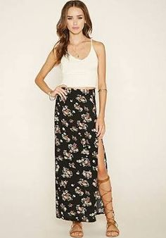 floral maxi skirt - Google Search