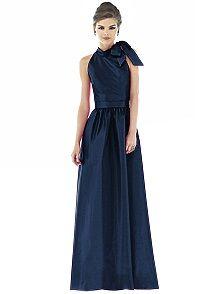 Alfred Sung D535 #blue #bridesmaid #dress