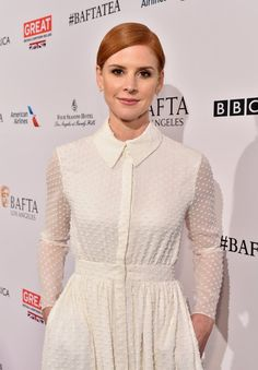 Pin for Later: See How the Stars Are Kicking Off Golden Globes Weekend!  Pictured: Sarah Rafferty