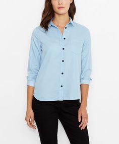 Levi's Line 8 Button Up Shirt - Platinum - Shirts & Blouses