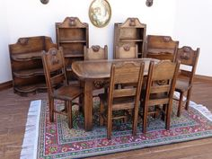 Teddy dining set made from cherry wood by Lynn Jowers. See the teddy heads under the table top.  https://www.etsy.com/shop/LynnJowers?ref=pr_shop_more