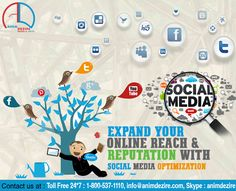 Expand online reach with social media optimization