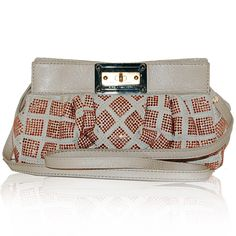 Marc Jacobs Beige Suede & Pink Crystal Bag http://www.consignofthetimes.com/product_details.asp?galleryid=7270