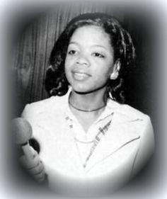 A young Oprah. always beautiful