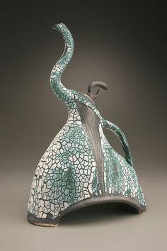 Bruce Johnson, ceramic #teapot