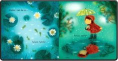 """Water Can Be . by Laura Purdie Salas & Violeta Dabija, illustrator MillBrook Press Age 4 to 8 32 pages . """"Water can be a . Find out about the many roles water… Water Play, Kids Lighting, Kids Writing, Age, Illustrations, Canning, Children, Catcher, Addiction"""