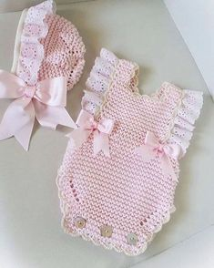 4 Pdf Crochet Patterns - Newborn Photo P - Diy Crafts - maallure Knitted Baby Clothes, Knitted Romper, Newborn Crochet Patterns, Baby Patterns, Baby Turban, Kind Mode, Baby Dress, Free Crochet, Doll Clothes