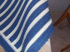 """Aunt Dot's Afghan""--free pattern for large, soft afghan"