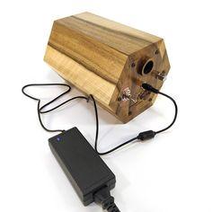Diy Bluetooth Speaker, Speaker Kits, Diy Speakers, Wooden Speakers, Tree Patterns, Perfect Christmas Gifts, Walnut Wood, Music Lovers, Handmade Wooden
