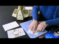 Anna Griffin tutorial -- Cricut Cuttlebug Collector's Dies 2 How To - YouTube