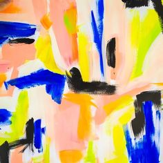 Our current mood: Bright and sunny with a splash of blue because the weekend is over. The Delano print is now available at @imagekind. And stay tuned, we have more in store for this one!  #theblushlabel #art #abstract #interiordesign #interiors #homedecor #decor #design #style #delano #summer #color #love #abstractart #tropical #instaart