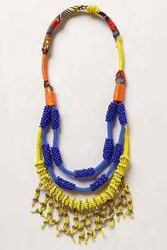 Anthropologie - Suspension Necklace