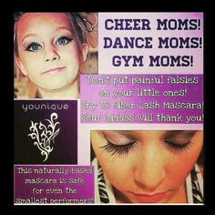 Dance and beauty pageant makeup. Mascara. www.foreverlashlife.com