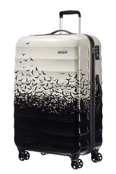American Tourister Palm Valley Spinner 77cm Fly Away Black Limited Edition