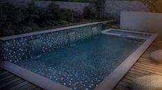 Surprenez vos amis par une piscine qui brille dans l'obscurité grace à une gamme complète de mosaïques émaux de verre phosphorescente de la marque Ezarri. Une mosaïque spécialement traitée à l'aide de couleurs spéciales qui la rendent phosphorescente....