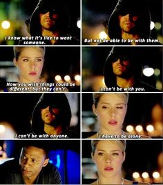 Arrow - Felicity, Diggle and Oliver #3.7 #Season3 #Olicity ♥