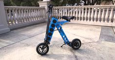 #World #News  Charge your phone with this foldable electric vehicle  #StopRussianAggression