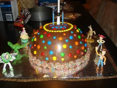 Pinata cake - hammer away at the chocolate shell to find a cake and treasures inside