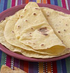 Photo de la recette : Tortillas de blé maison
