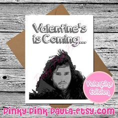 GoT valentines  Game of Thrones  Pinterest  Valentines and Love