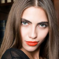 Orange is the new red #orange #red #lips