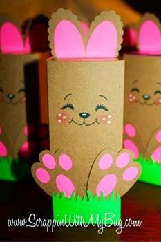Bunny roll spring crafts for kids, easter crafts for kids, easter projects, easter Easy Easter Crafts, Easter Art, Easter Projects, Hoppy Easter, Easter Crafts For Kids, Easter Bunny, Easter Ideas, Bunny Crafts, Easter Decor