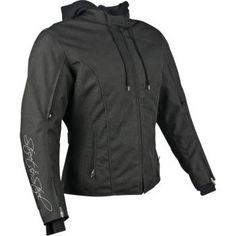 STREET & STEEL - Women's Knockout Textile Motorcycle Jacket with Hoody - Waterproof - Street - Jackets - Women's - Cycle Gear