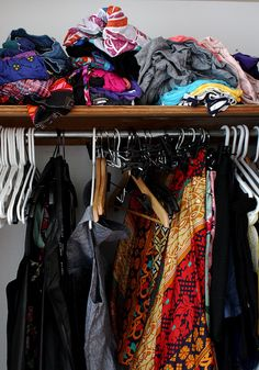 Buying clothes you'll actually wear that will fit with your life and last for years.