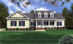 Country   Traditional   House Plan 59085