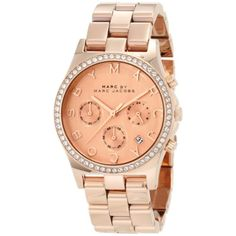 Marc by Marc Women's Henry MBM3118 Rose-Gold Stainless-Steel Quartz Watch Deal