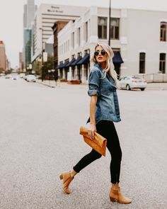 25 Chic Ways to Wear Ankle Boots This Fall