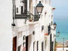 Beautiful old town of Altea by roomman, via Flickr