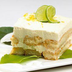 Exquisito tiramisú de limón http://cocinayvino.net/receta/postres/6252-tiramisu-de-limon.html