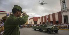 Cenizas de Fidel Castro recorren el centro de Cuba