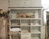 Ähnliche Artikel wie Painted Cottage Chic Shabby Cape Cod Farmhouse Cabinet CC50 auf Etsy