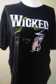Wicked the Musical Witches T Shirt Men's Broadway Sz Xl Awesome
